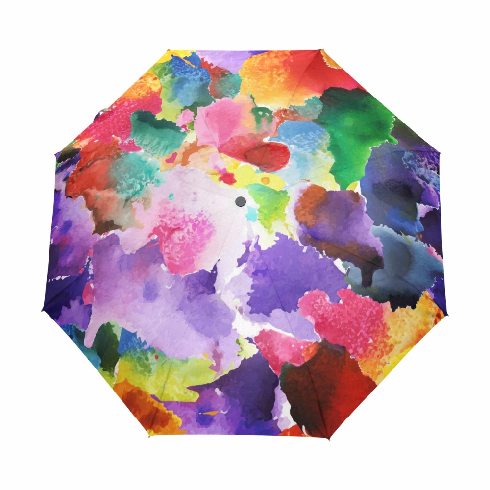 2019 2019 Vintage Gorgeous Automatic Umbrella Colorful Floral