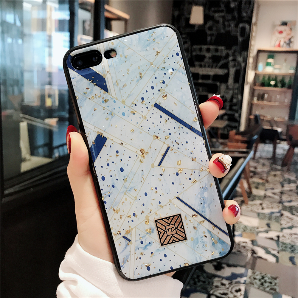 Luxury Glitter Case For iPhone 7 8 Plus 6 6s Plus Girly Soft Silicone Shockproof Cover For iPhone X iPhone XR XS Max Case Fundas in Fitted Cases from Cellphones Telecommunications