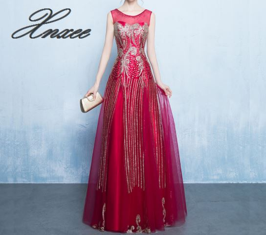 Dress 2019 new banquet dress Slim female in Dresses from Women 39 s Clothing