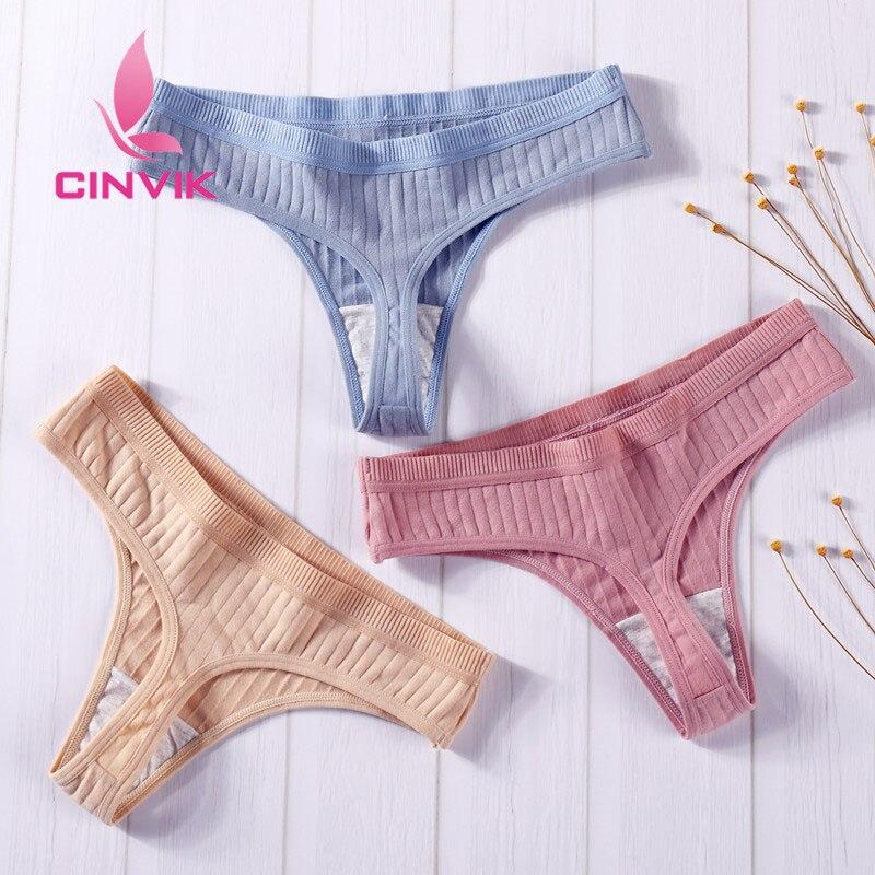 3Pcs/Lot Women's Cotton G-String Thong Panties String Underwear Women Briefs Sexy Lingerie Pants Intimate Ladies Letter Low-Rise