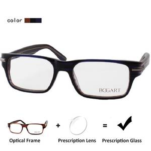 f7d4e1024a ZENOTTIC Simple Design Prescription Glasses Men Eyeglasses