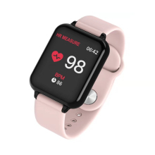 купить Hot Portable Smart Watch Waterproof Watch Female Men Smart Watch Heart Rate Blood Pressure Smart Watch For IOS Android Phone онлайн