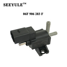 1pc SEEYULE 06F 906 283 F Turbo Boost Control Valve Turbocharger Solenoid Valve 06F906283F for VW Passat GTI AUDI A4 A5 A6 Q5 TT