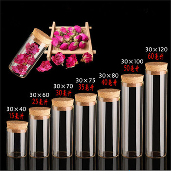 Diameter 30mm Glass Vials Jars  With Cork Empty Glass Transparent Bottles Containers Jewelry Packaging 24pcs Free Shipping 20pcs mini message bottles tiny empty clear cork glass bottles vials wedding holiday favour decoration christmas drifting bottle