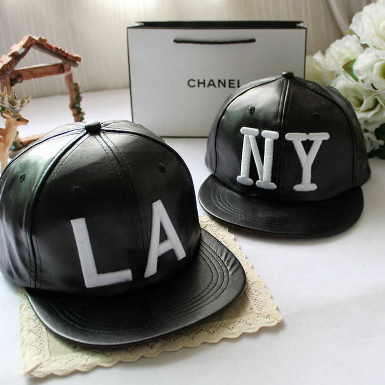 4195dfee371 HIGH QUALITYHIP HOP HOT Korea LA New Edition Fashion Male Ma am Cortex  Embroidery NY Letter Hiphop Baseball Hats-in Baseball Caps from Apparel  Accessories ...
