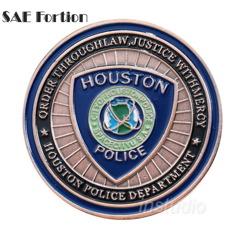 Houston Police St Michael\'s Memorial Commemorative Coin Challenge ...