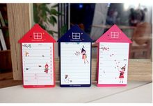 1PC/lot Cute Love house style sticky note memo notepad removeable paper book Korean style(China)