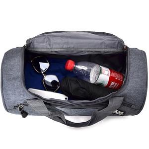 Image 5 - Дорожная Спортивная Сумка для мужчин, однотонный чемодан через плечо унисекс, портативные нейлоновые сумки, большая многофункциональная сумка на плечо для мужчин XA268WC