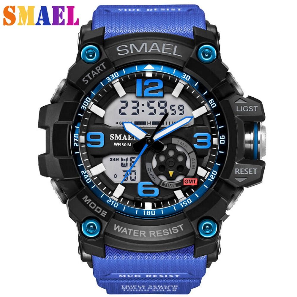 2017 New Brand Fashion wristwatches Men G Style Waterproof Sports Military Watches S Shock Luxury Analog