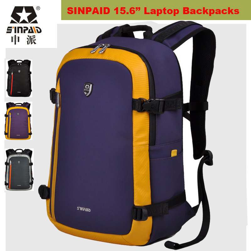 ФОТО 2017 Newest Designer Laptop Backpack 15.6 Inch Laptop Bags Outdoor Sports Rucksack Travel Camping Bag men women Mochila Feminina