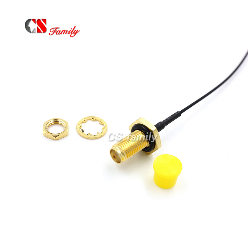 Sma To Ipex Communication Equipments Sensible Ip66 Ip67 Waterproof Pigtail,rf Jumper With O Ring