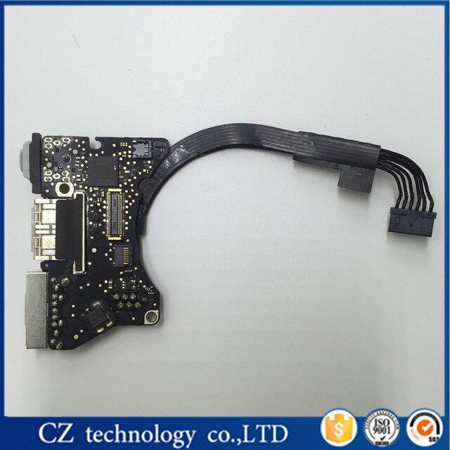 """Оригинальный Power Audio Board MagSafe Ввода/Вывода USB Сила DC jack 11 """"для MacBook Air A1465 1465 820-3453-A MD711 MD712 2013 2014 2015"""
