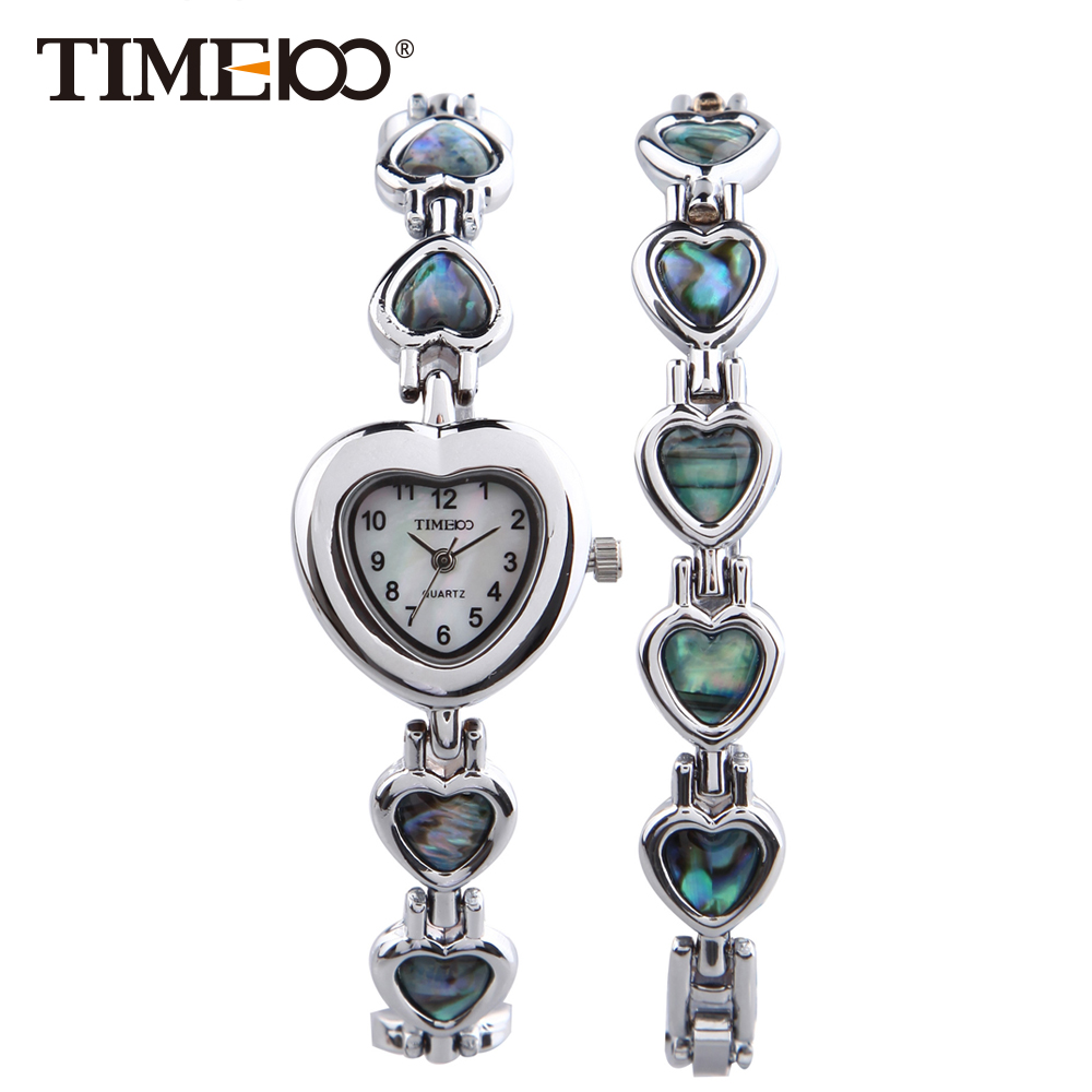 Time100Fashion Watch Women Bracelet Watches Quartz Watches Abalone Waterproof Laides Wrist Watch  relogio feminino
