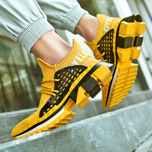 SUROM Men Mesh Running Shoes Chaussure Homme Outdoor Sneakers For Men Sport Shoes Men Jogging Walking Shoes zapatillas hombre цена