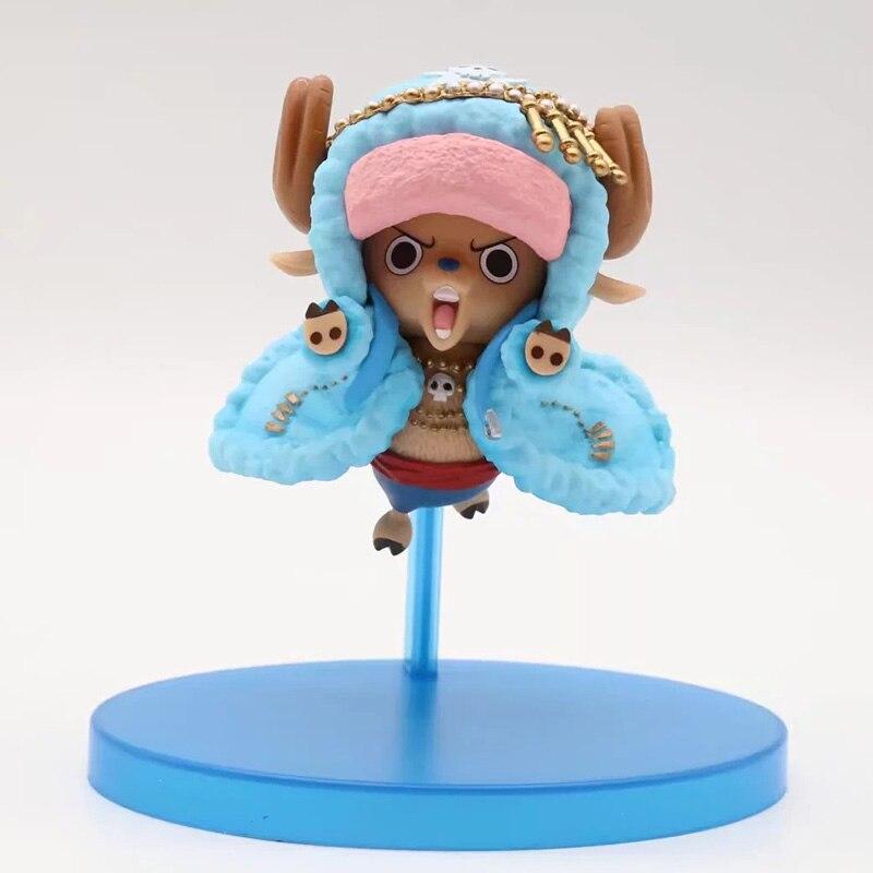 One Piece Chopper Action Figure F 20th Anniversary Straw Hat Crew Chopper PVC figure Toy Brinquedos Anime 9CM