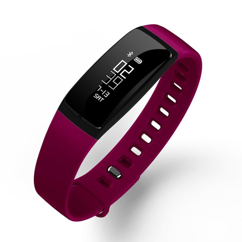 HL 2017 S11 Bluetooth 4.0 Sport Smart Watch Wrist Bracelet Smartband Pedometer Fitnes Tracker ma17Levert Dropship E22#3