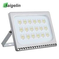 Kaigelin 100W LED Flood Light 7000LM Waterproof LED Projector Spotlight Garden Security Wall Lamp Floodlight Outdoor Lighting