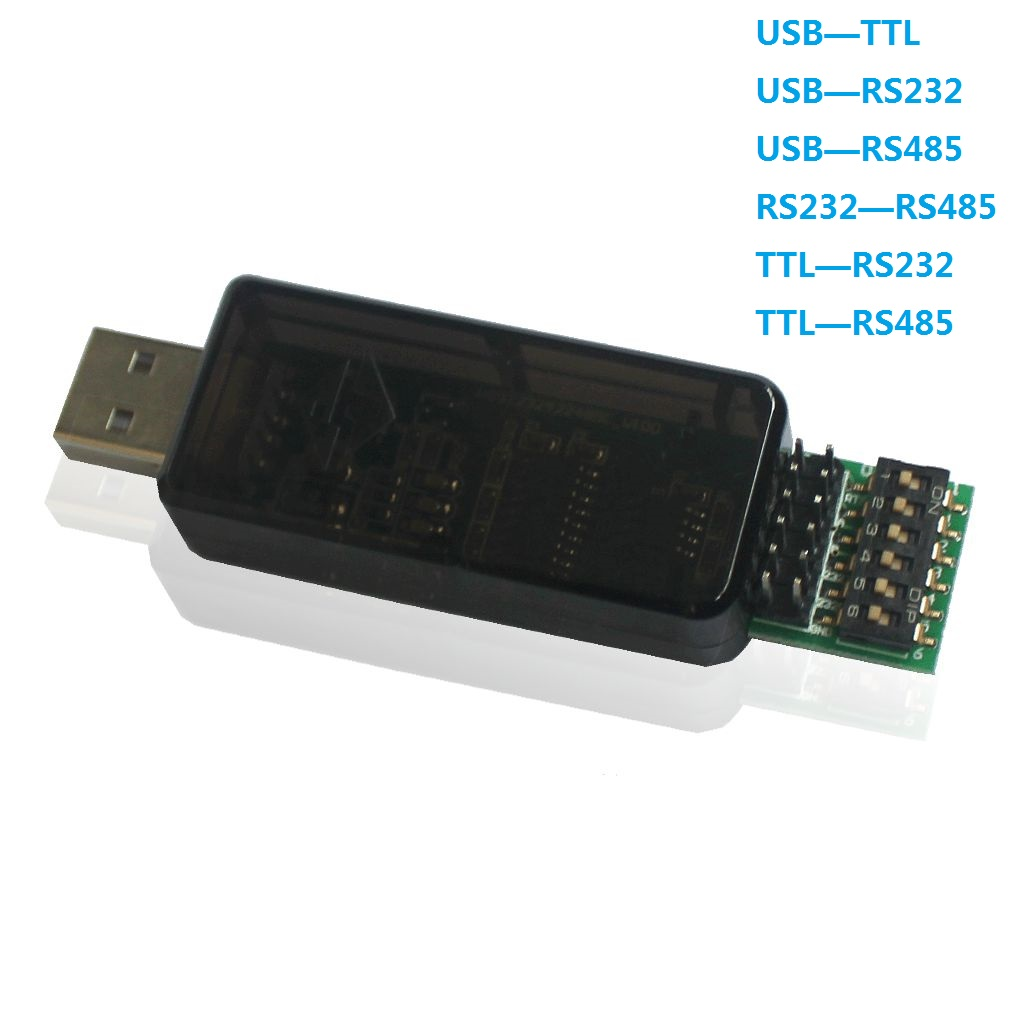 RS485 RS232 TTL Go To USB 6 In 1 Converter CP2102 Chip