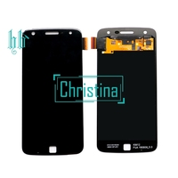 HH For Moto Rola Z Play LCD Display With Touch Screen Digitizer Panel Assembly Replacement 1920x1080 For Moto XT1635 Display