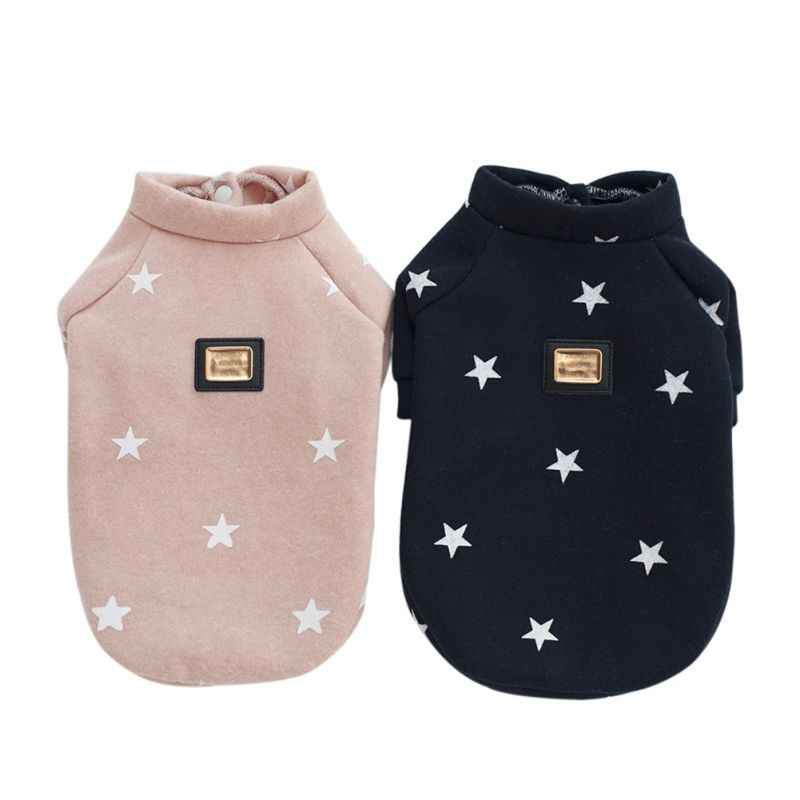 Pet Dog Clothes Warm Hoodies Bulldog Clothing Sweatshirt hooded jacket Coat Autumn and Winter French