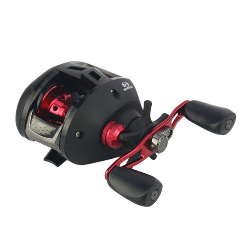 2018 New YUMOSHI CD200 7.3:1 Bait casting Fishing Reel 12+1BB Baitcasting Reel Aluminum Spool Carretilha Pesca Carp Fishing Gear