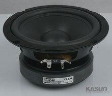 2PCS Kasun TS 632 6inch font b Woofer b font Speaker Driver Unit Large Magnet Black