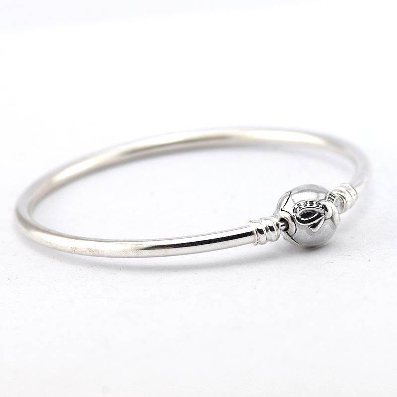 bangles silver products charm plated bracelets crystal product for beads grande image women