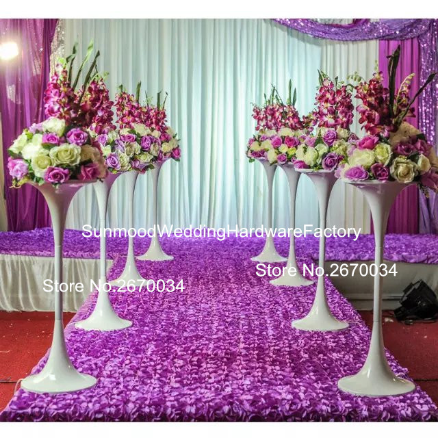 No Flowers And Feathers Includingnew Wedding Stage Decoration