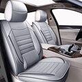 Кожа высокого качества Универсальный Автомобильный чехлы на сиденья для ford ranger Fusion Focus 2 mk2 mondeo mk3 mk4 kuga авто аксессуары для автомобиля