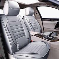 Fundas de asiento universal de cuero de alta calidad para ford ranger ford fusion focus 2 mk2 mondeo mk3 mk4 kuga auto accesorios para el coche accesorios