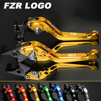 CNC Motorbike Levers Motorcycle Brake Clutch Levers Foldable Extendable For Yamaha FZR400 FZR 400 RR RRSP 1991 1995