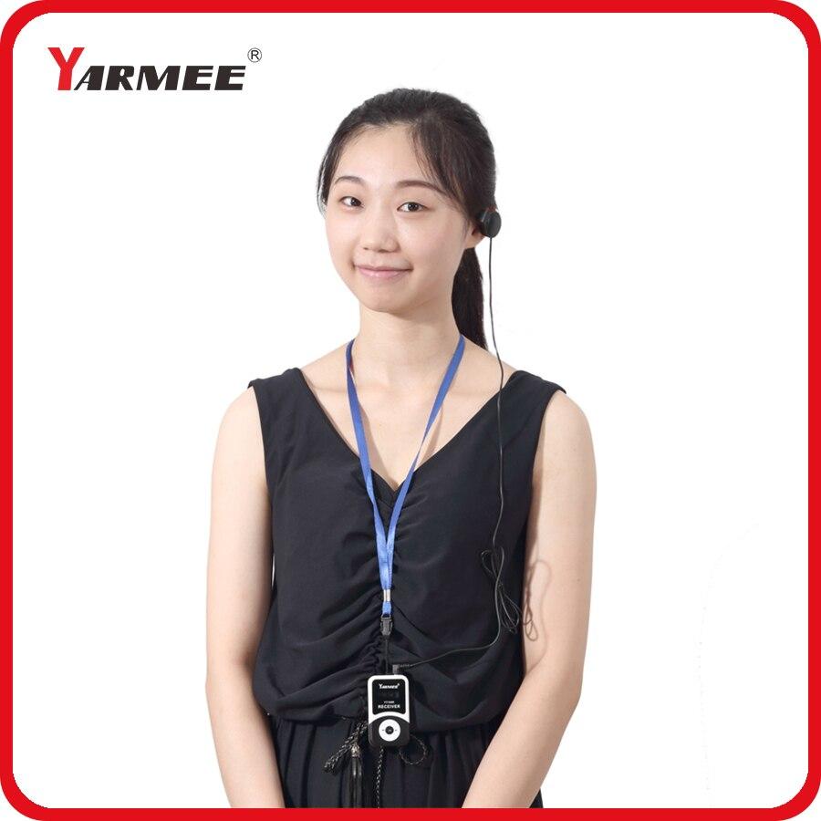 195 MH ~ 230 MHz VHF Portable Sans Fil Tour Guide Système Équipement pour 30 pcs Récepteurs Avec 1 PC Chargeur cas YT100