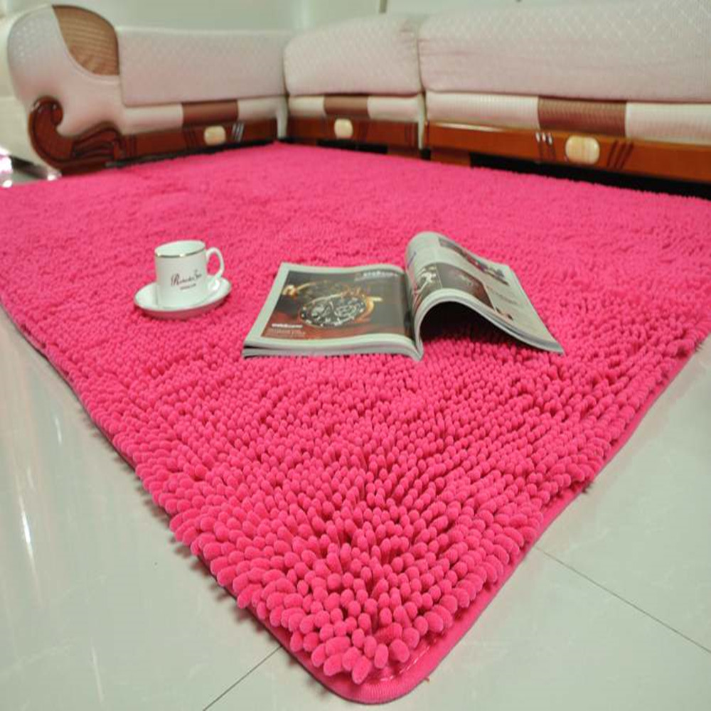 Factory outlet chenille mats yoosa stair rotation angle waterproof non-slip mat carpets customized thickening simplicity rugs