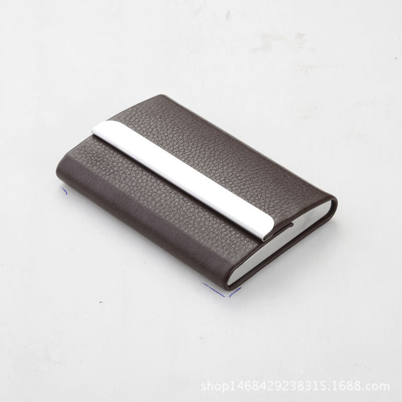 Metal classical rfid blocking aluminum card holder business mens metal classical rfid blocking aluminum card holder business mens card wallets front pocket holders in card id holders from luggage bags on colourmoves