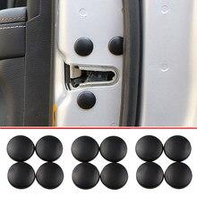 12pçs tampa de protetor de parafuso da fechadura, cobertura de protetor para parafuso de fechadura de porta de carro para citroen picasso c1 c2 c3 c4 c5 ds3 ds4 ds5 ds6 elysee c-quatro c triomfe