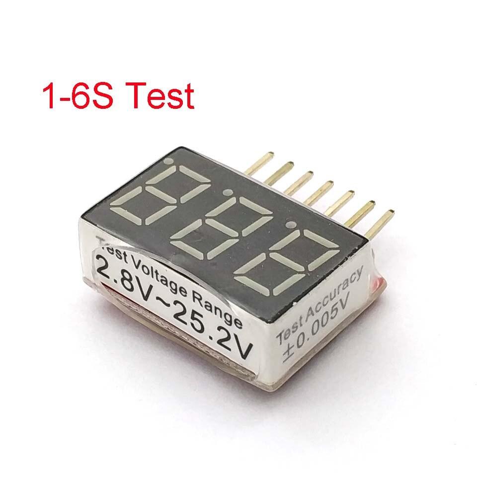 Buggy RC 1/12 - variateur 1-6s-RC-1S-6S-LED-basse-tension-Buzzer-alarme-Lipo-batterie-tension-indicateur-v-rificateur