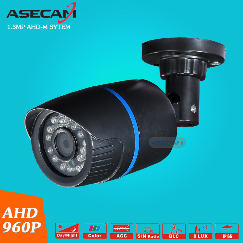 free shipping 1 4mp ahd hd 960p cctv camera 2500tvl outdoor mini 24led night vision infrared metal bullet security surveillance New Product AHD 960P CCTV Camera Mini  Indoor Bullet 24LED Infrared Night Vision Security Surveillance AHD-M System