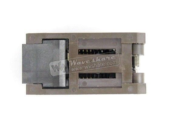 ФОТО Modules SOP20 SO20 SOIC20 FP-20(28H)-1.27-07 Enplas IC Test Socket Adapter 7.9mm Width 1.27mm Pitch