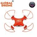Kvadrokopter gw009c global drone helicópteros zangão câmera hd 2.4g mini controle remoto zangão drones com câmera hd helicoptere
