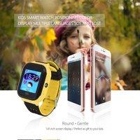 Children Smart Watch GPRS Base Station Positioning Touch Screen SOS Emergency Alarm Phone Book Wechat Kids Wristwatch