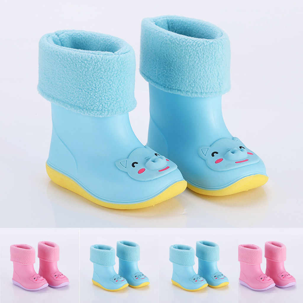 MUQGEW/детская обувь; новые модные сапоги от дождя из пвх; непромокаемые сапоги; нескользящая обувь для малышей младенцев; детская обувь для маленьких мальчиков и девочек