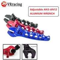 VR RACING-réglable un 3 4 6 8 10 12 clé en aluminium outil de montage de tuyau clé en aluminium AN3-AN12 VR-SLW0601