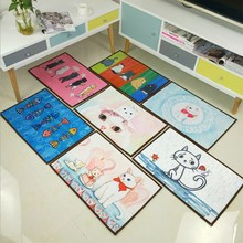 Bathroom Door Non-slip Carpet Bedroom Cartoon Floor Mat Bathroom Bath Mat For Home Decoration Kitchen Absorbent Floor Mat bathroom carpets absorbent non slip floor mat soft thicken plush shower mat bath bathroom floor foam rug bedroom bedside mat