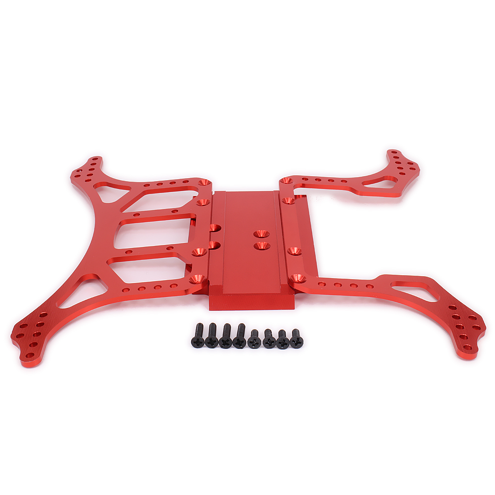 1Set DIY Chassis Frame Alloy Aluminum Axial Ax10 Ax30505/Ax30504 Upgarde For 1/10 Rc Car Scale Rock Crawler N10211 Hopup Parts 10pcs 30505