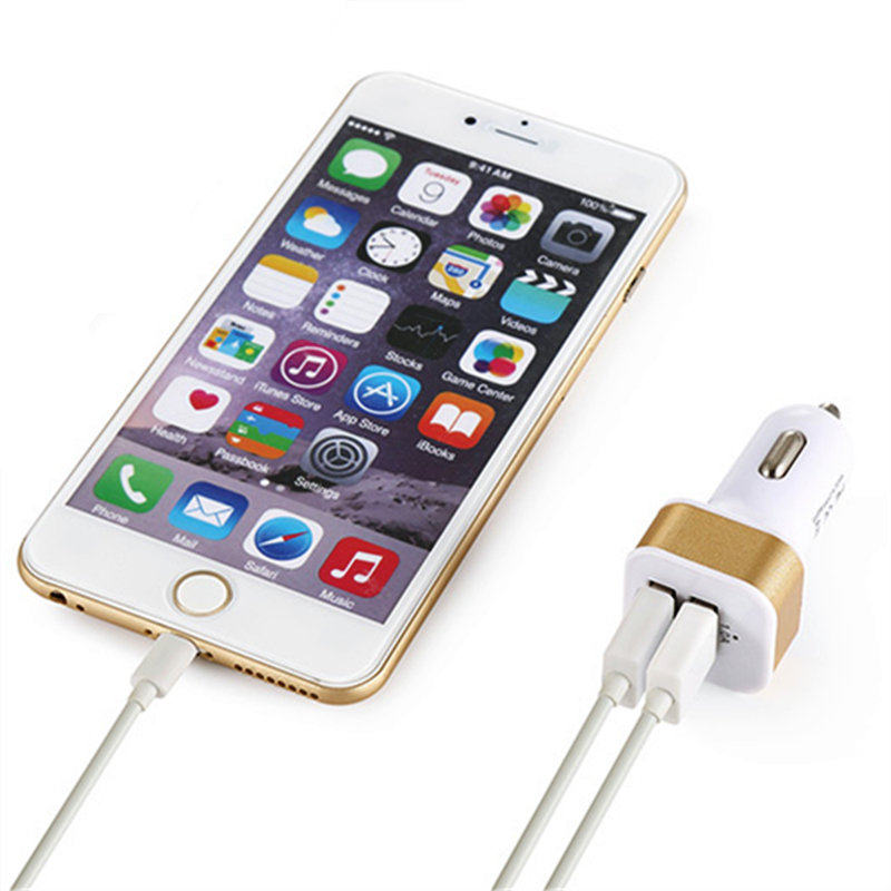 2.1A 1A կրկնակի ելքային USB մեքենայի - Բջջային հեռախոսի պարագաներ և պահեստամասեր - Լուսանկար 4