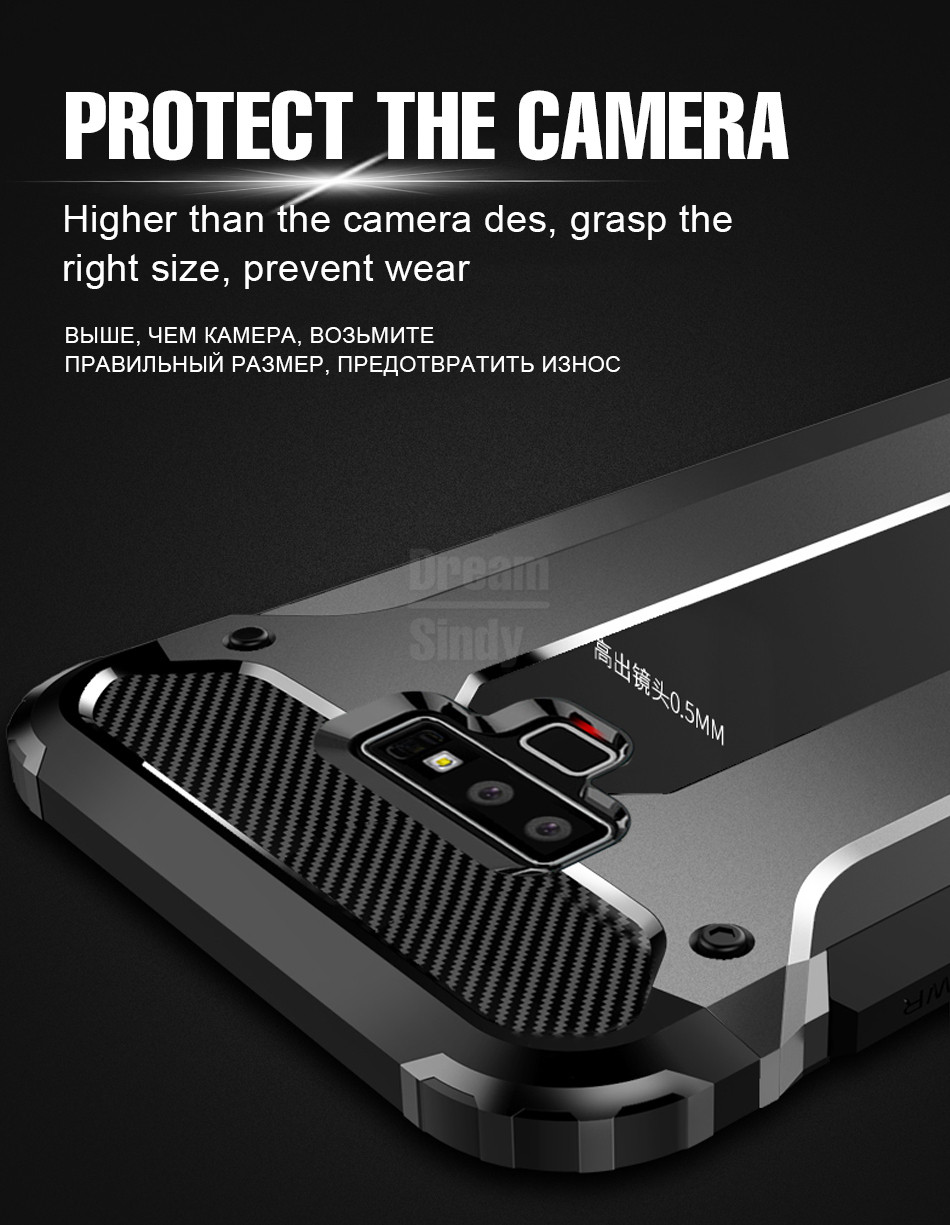 Luxury Armor Shockproof Bumper Case05