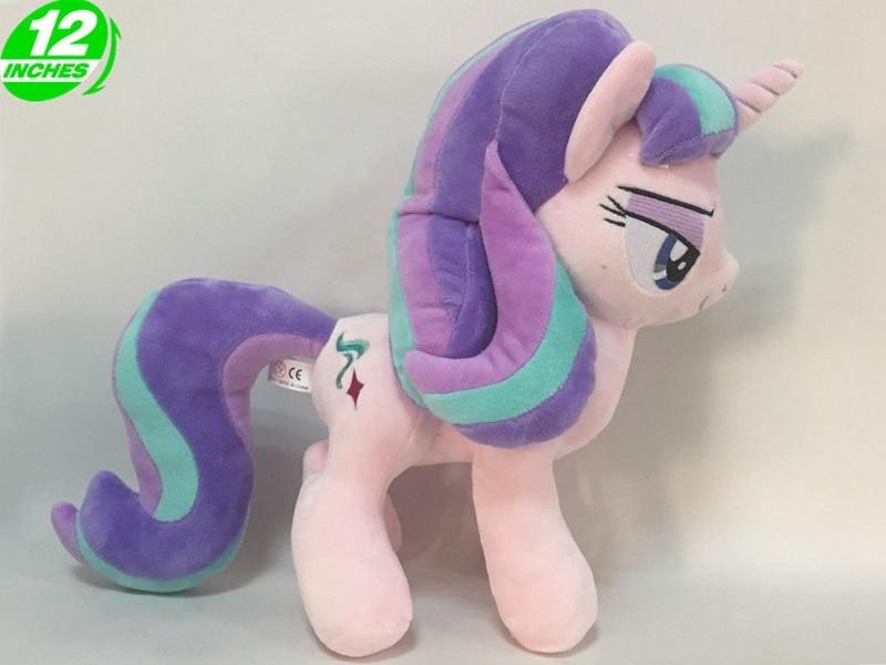 30cm Friendship is Magic Unicorn Plush Pony Toy New Cartoon Horse Stuffed Toys for Children Ty