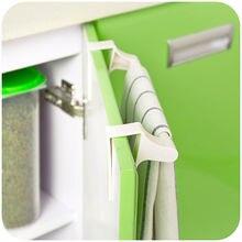 1Pc Towel Bar Holder Rack Storage Organizer Bathroom Kitchen Hanging Rail