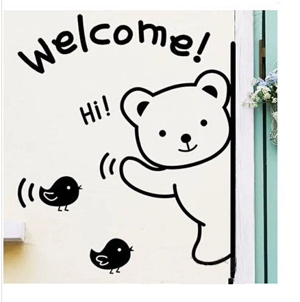 2015-Black-welcome-cute-bear-3D-self-adhesive-and-removable-wall-sticker-for-bedroom-living-room.jpg