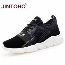 JINTOHO, мужская обувь для взрослых, Уличная обувь для бега, бега, ходьбы, спортивная обувь для мужчин, на шнуровке, Мужская обувь для бега, атлетические мужские кроссовки